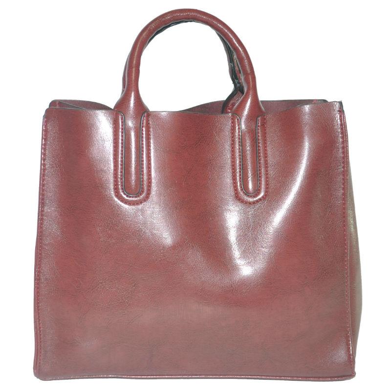 a1e12e217e5e Женская сумка с красивыми ручками 01546562167377dark-purple фиолетовая