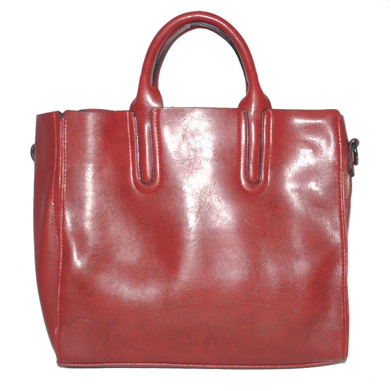 Женская сумка с красивыми ручками 01546562167377red красная купить в ... 68fc18325dc60