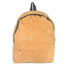 Рюкзак вельветовый 01543160874050khaki хаки