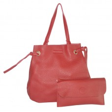 Женская сумка мешок 01538487728532red красная