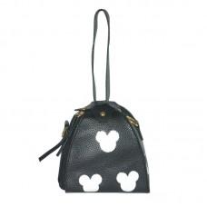 Женская сумка мешочек 01534623391778black черная