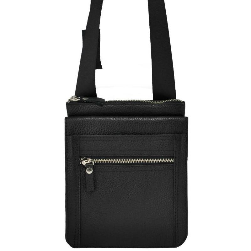 6029ec3e70ab Мужская кожаная сумка органайзер черная — купить недорого в интернет ...