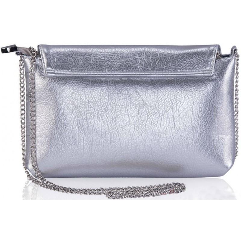 d8e742b2553d Женский клатч Alba Soboni 161076 серебристый — купить недорого в ...