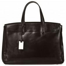 Кожаная женская сумка Bottega Carele BC115-black черная