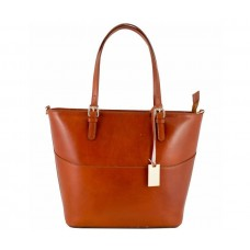 Кожаная женская сумка Bottega Carele BC118-ginger рыжая