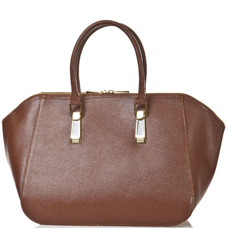 Шкіряна жіноча сумка BC128-brown коричнева — купити в інтернет ... 84620d50d196c