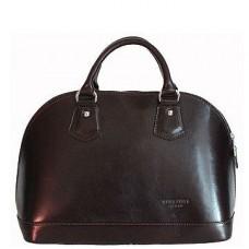 Кожаная женская сумка Bottega Carele BC130-black черная