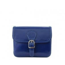 Кожаная женская сумочка BC302-blue