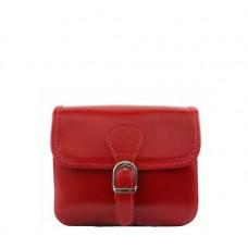 Кожаная женская сумочка BC302-red