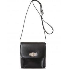 Кожаная женская сумка Bottega Carele BC306-black черная