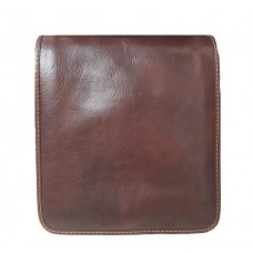 Кожаная сумка Bottega Carele BC603-brown коричневая