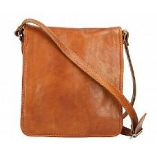 Кожаная сумка Bottega Carele BC603-ginger рыжая