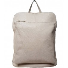 Кожаный рюкзак Bottega Carele BC704-beige бежевый
