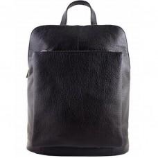 Кожаный рюкзак Bottega Carele BC704-black черный