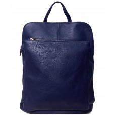 Кожаный рюкзак Bottega Carele BC704-dark-blue темно-синий