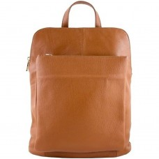 Кожаный рюкзак Bottega Carele BC704-ginger рыжий
