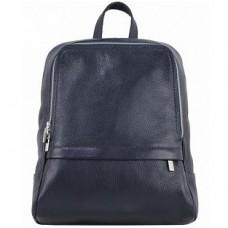 Кожаный рюкзак Bottega Carele BC712-darkblue темно-синий