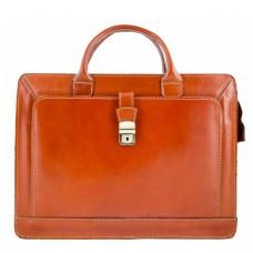 Кожаный портфель Bottega Carele BC802-ginger рыжий