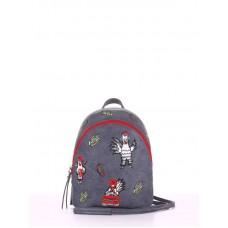 Мини-рюкзак Alba Soboni 180214 серый