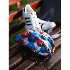 Мешочек для обуви Alba Soboni 183837 веселые пушистики/красный