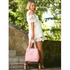 Сумка Alba Soboni 181415 пудрово-розовая