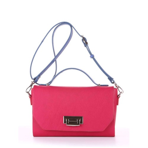 Деловая сумочка Alba Soboni E18014 ягода-синий