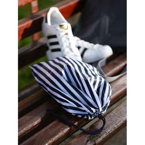 Мішечок для взуття Alba Soboni 183831 синій/біла смуга
