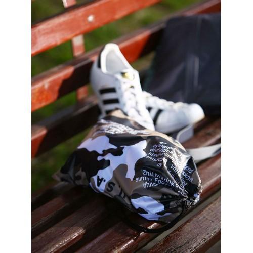 Мішечок для взуття Alba Soboni 183836 мілітарі/чорний