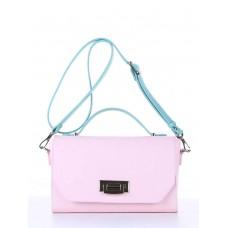Деловая сумочка Alba Soboni E18011 гортензия-мята