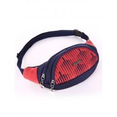 Сумка на пояс Alba Soboni 183881 сине-красная