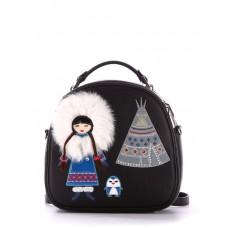Сумка-рюкзак Alba Soboni 172959 черный