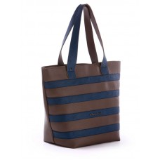 Сумка Alba Soboni 171472 коричнево-синяя