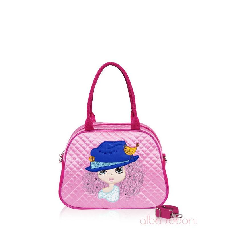 5e95731c0632 Детская сумочка Alba Soboni 0323 розовая купить недорого в интернет ...
