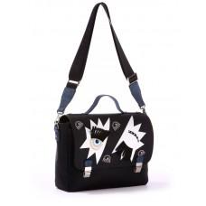 Сумка-портфель Alba Soboni 171332 черная