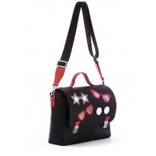 Сумка-портфель Alba Soboni 171335 черная