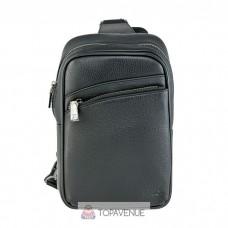 Кожаный рюкзак AMO ACCESSORI AMO7936-38black черный