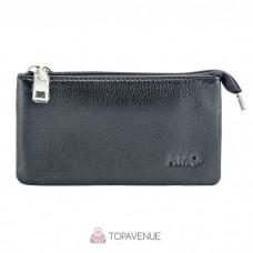 Кошелек-клатч AMO ACCESSORI AMO166-1black черный