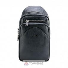 Кожаный рюкзак AMO ACCESSORI AMO7936-42black черный