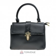 Стильная женская сумка AMO ACCESSORI AMO8173black черная