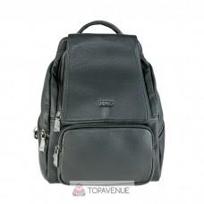 Кожаный рюкзак AMO ACCESSORI AMO9311-17black черный