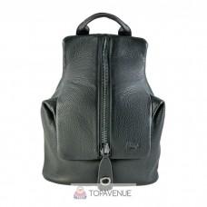 Кожаный рюкзак AMO ACCESSORI AMO9311-21black черный