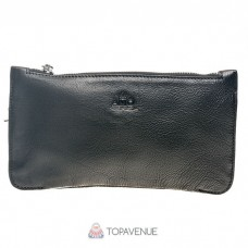Кожаный клатч AMO ACCESSORI AMO9939-1black черный