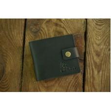 Шкіряне портмоне 117076 чорне