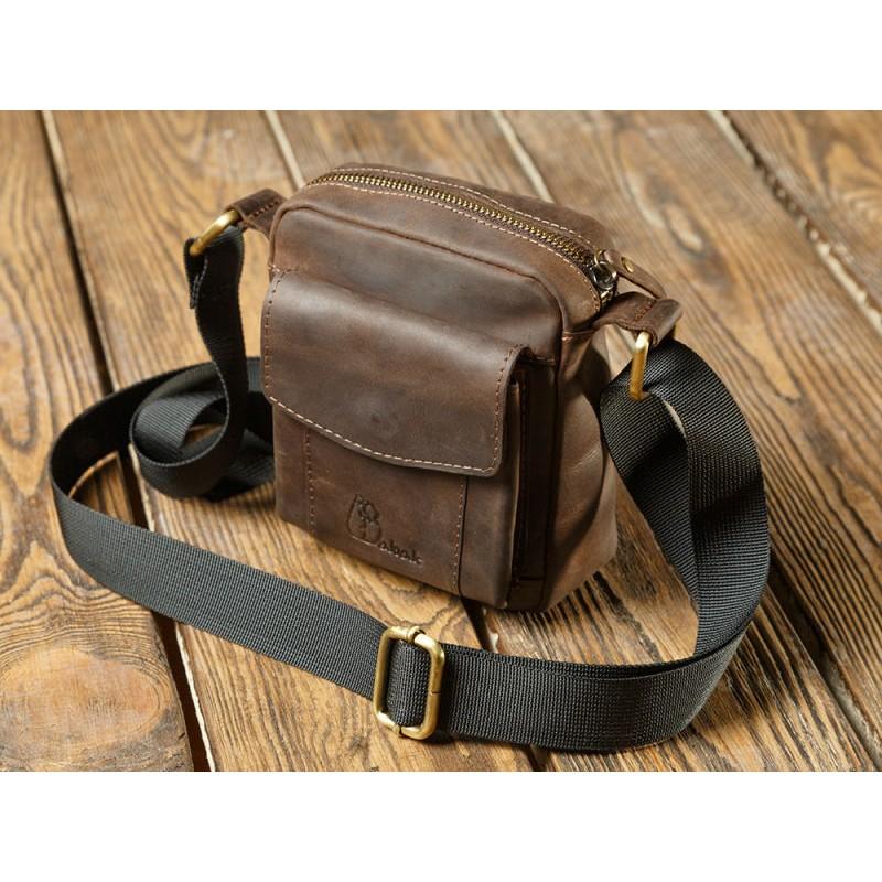 dcabfa20bd75 Мужская кожаная сумка mini 899051 от производителя BABAK купить недорого