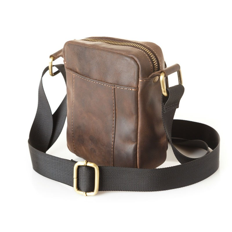 841ff0ddb46d Мужская кожаная сумка mini 899051 коричневая Мужская кожаная сумка mini  899051 коричневая ...