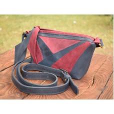 Женская кожаная сумка 905062/66 синяя