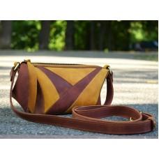 Женская кожаная сумка 905065/79 коньяк