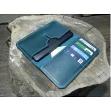 Чехол-портмоне для iPhone 122077 тёмно-зелёный