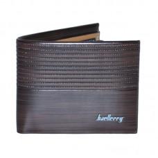Мужской кошелек Baellerry Wood коричневый