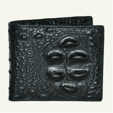Чоловічий гаманець Baellerry Croco Mini чорний